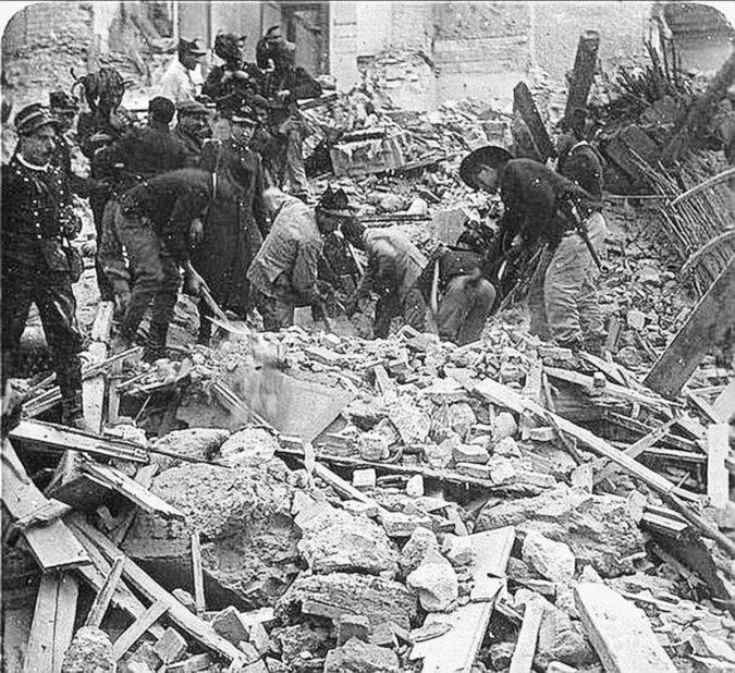 Messina, stato d'emergenza (per il terremoto del 1908)