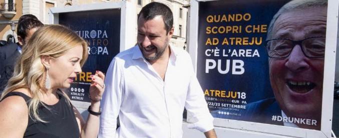 """Atreju, Matteo Salvini: """"Con Berlusconi solo accordi locali. Al governo avrei voluto Meloni ma non Forza Italia"""""""