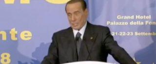 """Intercettazioni, Berlusconi: """"Norma va cambiata, nessuna può essere resa pubblica"""" e invoca l'introduzione della cauzione"""