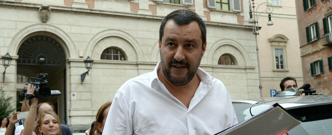 """Salvini: """"Legge di bilancio sia coraggiosa. Tria la faccia espansiva. Audio Casalino? Incauto, non minacciamo nessuno"""""""