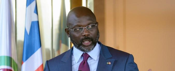 Liberia, scompare un container con 88,3 milioni di euro. Polemica su George Weah