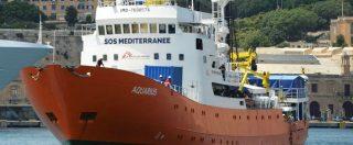 """Aquarius 2, la nave con 58 migranti a bordo verso Marsiglia. L'appello della ong: """"Chiediamo una bandiera"""""""