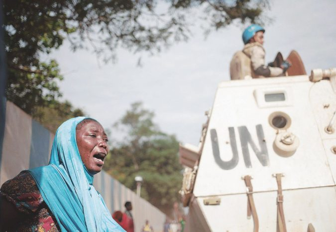 Tra le strade del Congo, grande fallimento Onu