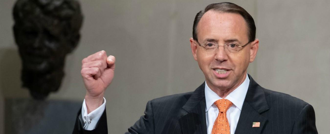 """Usa, il viceministro Rosenstein va alla Casa Bianca dopo lo scoop del Nyt. """"Si aspetta di essere licenziato"""""""