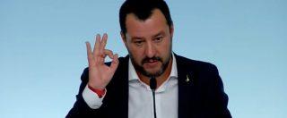 """Aquarius, Salvini risponde a Macron: """"Non accettiamo lezioni di umanità da chi ha respinto 50mila immigrati"""""""