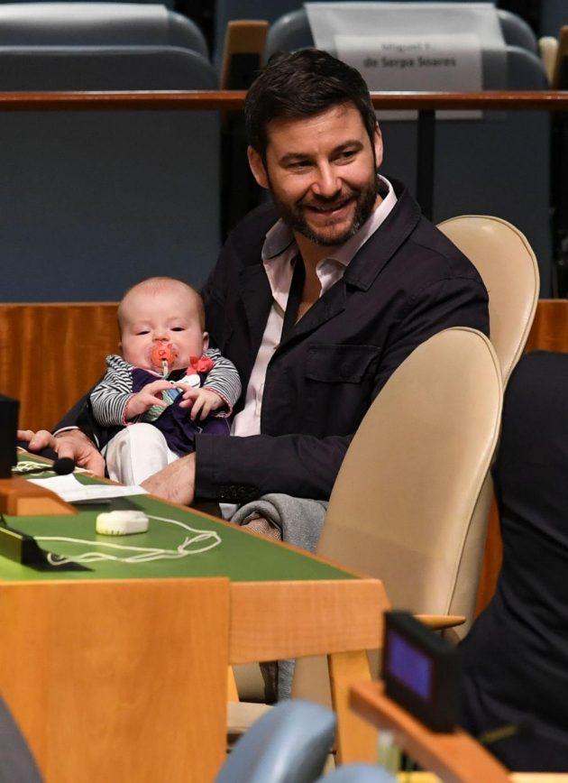 Onu, debutto diplomatico per la First baby della Nuova Zelanda