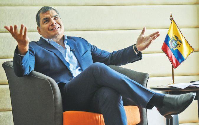 Ecuador, la persecuzione (e gli errori) di Raf Correa