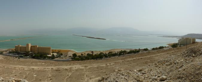 Sei anni di siccità consecutiva, non saranno le acque del Mar Rosso a salvare il Mar Morto