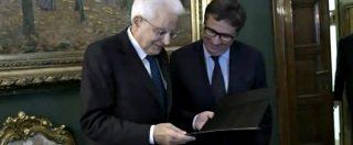 """Csm, Mattarella consegna a Ermini la delega a vicepresidente del Csm: """"Con sua elezione inizia nuova pagina"""""""