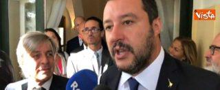 """Manovra, Salvini: """"Vale la pena sforare il 2%. Tria? Nessun assedio al ministro, Governo rema nella stessa direzione"""""""