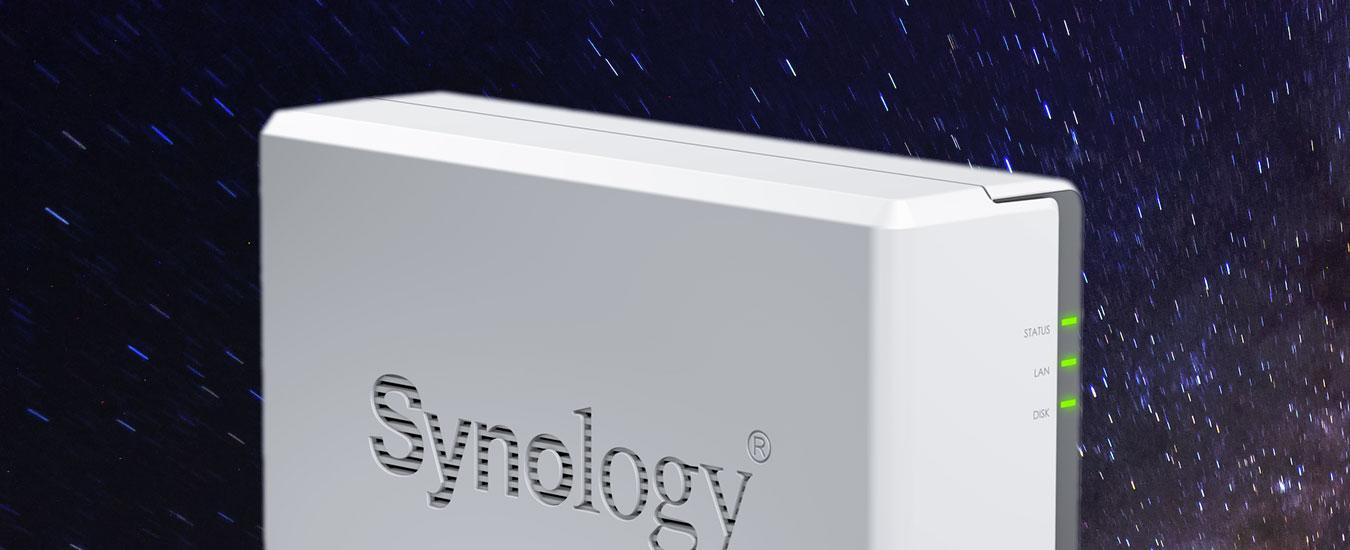 Synology DiskStation DS119j, un NAS economico per salvarsi i file a casa