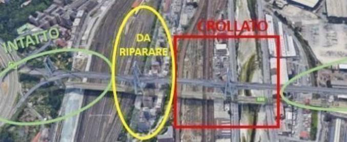 Ponte Morandi, l'ingegnere che lo riparò 25 anni fa: 'Salvare le parti integre, così ci vuole un quarto del tempo per riaprirlo'