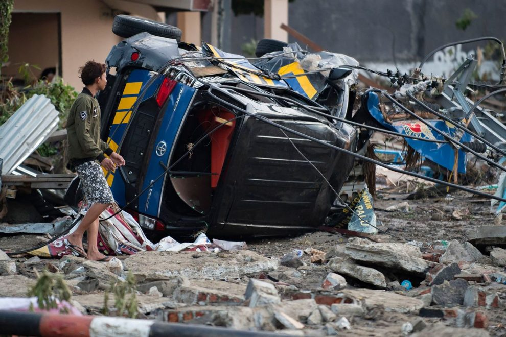 Terremoto e tsunami, 384 morti in Indonesia