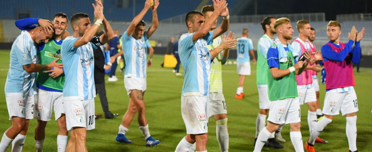 Virtus Entella, la squadra sospesa: ha esordito in Serie C, avrebbe dovuto farlo in B, ora non gioca in alcuna categoria