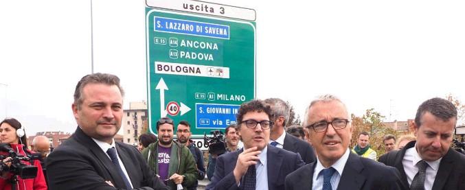 Incendio tangenziale Bologna, riapre il raccordo sull'A14: lavori completati in 53 giorni (in anticipo sulle previsioni)