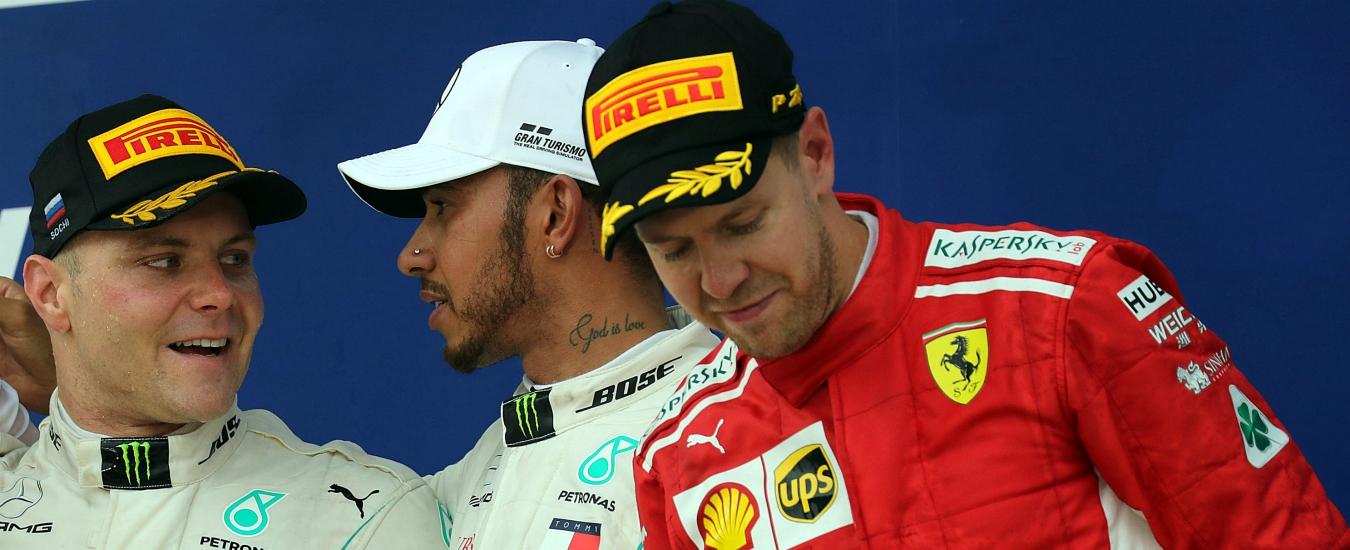 Formula 1, le Mercedes dominano il Gp di Russia. E alla Ferrari non resta che pensare al 2019