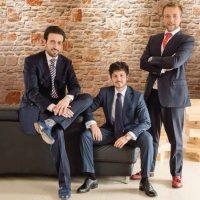 Danilo Marotta, Carlo Angius e Riccardo Trentini