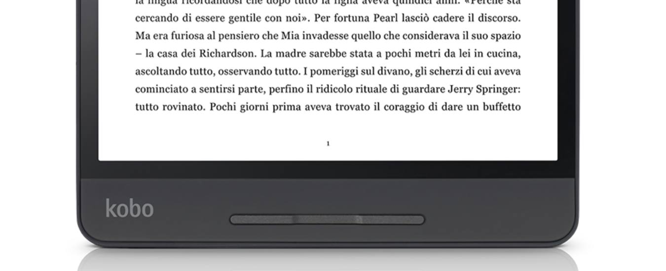 Kobo Forma agevola la lettura degli eBook con uno schermo
