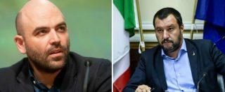 """Lucano arrestato, Salvini: """"Cosa dicono Saviano e i buonisti?"""". Lo scrittore: """"Atto verso Stato autoritario. Mimmo è solo"""""""