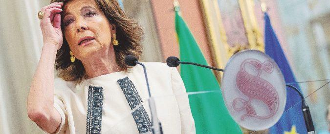 La Casellati batte il Senato: avrà il vitalizio arretrato
