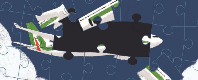 Alitalia, la dura realtà nascosta dietro ai brindisi