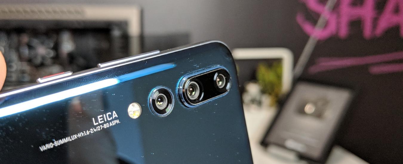 Huawei P20 Pro, come funziona la tripla fotocamera posteriore e perché gli smartphone montano più sensori fotografici