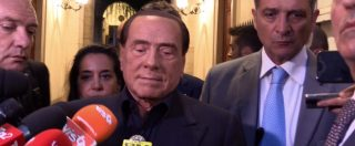 """Def, Berlusconi: """"Reddito cittadinanza è un disastro. Salvini rifletta, auspico la fine di questo Governo"""""""