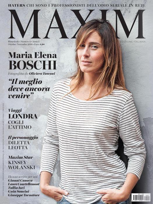 Calendario Boschi.Maria Elena Boschi Ho Comprato Maxim E Sono Rimasto Deluso