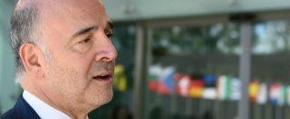 """Ue, Moscovici: """"L'Europa rischia di implodere o essere sovvertita da estrema destra di Salvini, Le Pen o Orban"""""""
