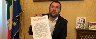 """Decreto sicurezza, Salvini: """"Ora va in Parlamento. Non mollo di un millimetro"""". A Moscovici: """"Europa vi schifa"""""""