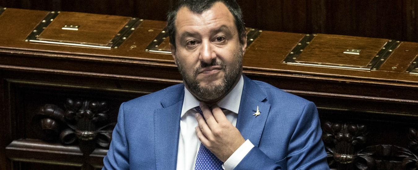 """Pace fiscale, Salvini: """"Riguarderà tutti i debiti fino a 500mila euro, ma sarà intervento a gamba tesa"""""""