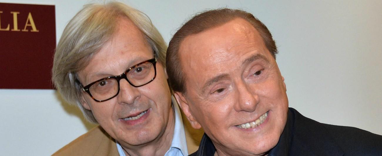 """Sgarbi lascia Forza Italia: """"Ho invitato Berlusconi a Sutri, ma non è venuto per le liti da pollaio del suo partito infido"""""""