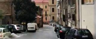 Maltempo, nubifragio a Catania: le vie del centro trasformate in fiumi in piena
