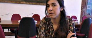 """Nobel per la pace 2018 alla yazida Nadia Murad. Quando nel 2016 raccontava: """"Noi come merce di scambio, come bestie"""""""