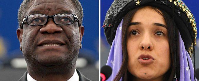 Nobel per la Pace a Nadia Murad e Denis Mukwege, per ricordare che lo stupro è un'arma di guerra