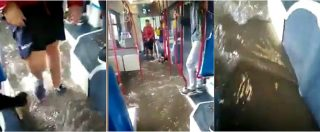 Maltempo, disagi anche in Puglia: treni interrotti e bus di linea allagati