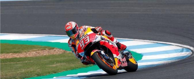 MotoGp, pole position per Marquez nel Gp della Thailandia. Secondo Rossi, seguito da Dovizioso