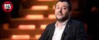 """Pace fiscale, Salvini: """"Sarà fino a 500mila euro e riguarderà gli italiani che vivono da fantasmi. Non quelli con 4 Ferrari"""""""