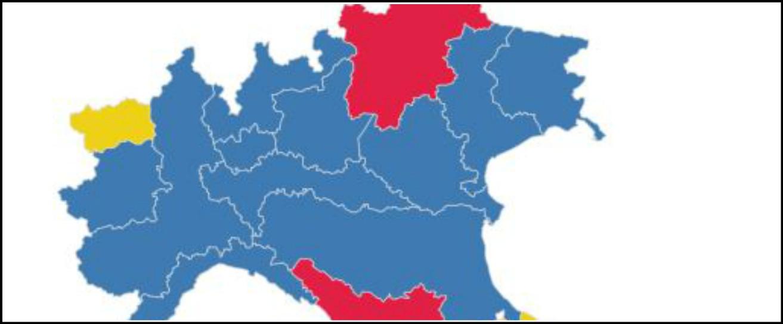 """Sondaggi, così la Lega """"sostituisce"""" Fi: nel Nord-Est prende un voto su 2. M5s perde colpi al Centro-Nord, ma resiste al Sud"""
