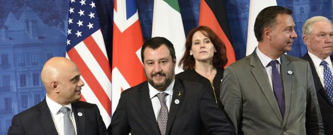 """Migranti, Salvini: """"Stiamo lavorando all'apertura di corridoi umanitari dall'Africa per donne e bambini"""""""