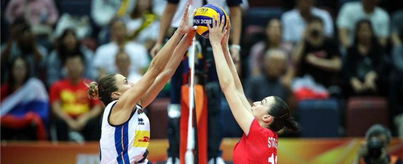 Mondiali volley femminile, l'Italia batte 3 a 1 la Russia e si qualifica alle fasi finali