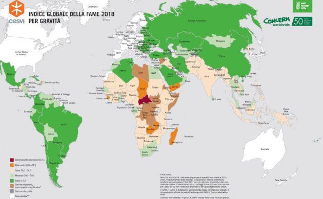 Cartina Fame Nel Mondo.Fame Nel Mondo In 45 Paesi E Ancora Un Problema Grave Asia Meridionale E Africa Subsahariana Le Regioni Piu Colpite Il Fatto Quotidiano