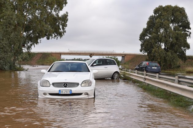 Maltempo Sardegna |  trovato il corpo della 45enne dispersa  L'allerta scende ad arancione