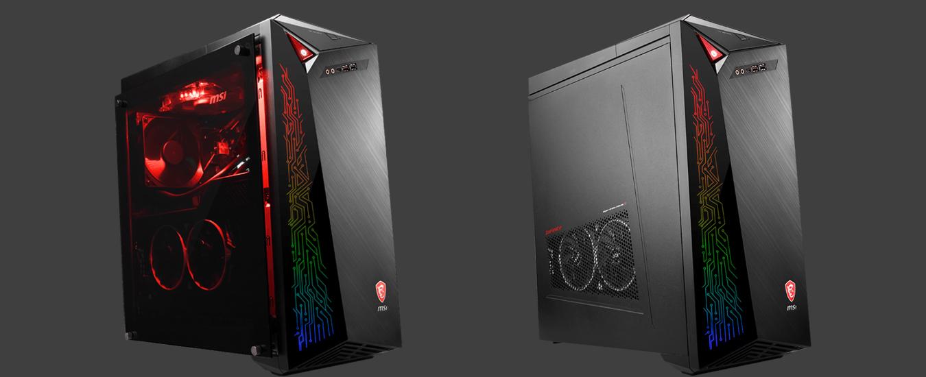MSI Infinite X, la prova del desktop da gaming di MSI