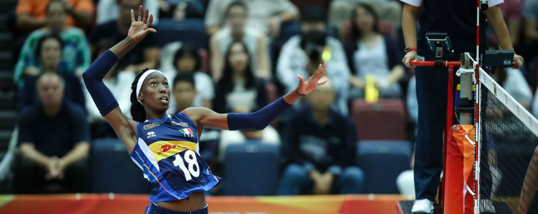 Mondiali volley femminile, l'Italia batte 3-1 gli Stati Uniti ed è prima nel girone. È la nona vittoria consecutiva
