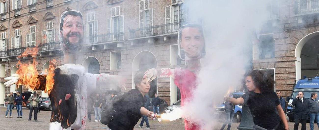 """Corteo studenti, Di Maio: """"I manichini bruciati? Spero che denuncia vilipendio venga archiviata. È un reato medievale"""""""