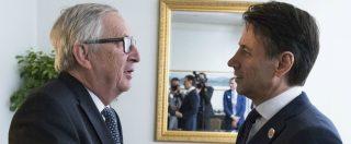 """Juncker: """"L'Italia non mantiene la parola. Roma ha avuto flessibilità"""". Replica M5s: """"Vuole alimentare lo scontro"""""""