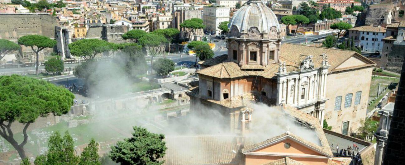 Roma, crollo tetto chiesa San Giuseppe: due indagati per disastro colposo