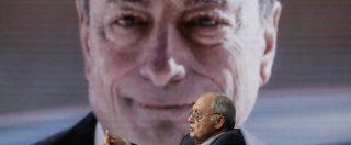"""Manovra, Draghi: """"Fiducia in un'intesa ma serve abbassare i toni, non solo in Italia. Deviazioni? Non è la prima volta"""""""