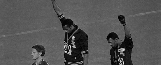 Tommie Smith e John Carlos a Messico 1968, quel pugno al cielo che ha cambiato il mondo
